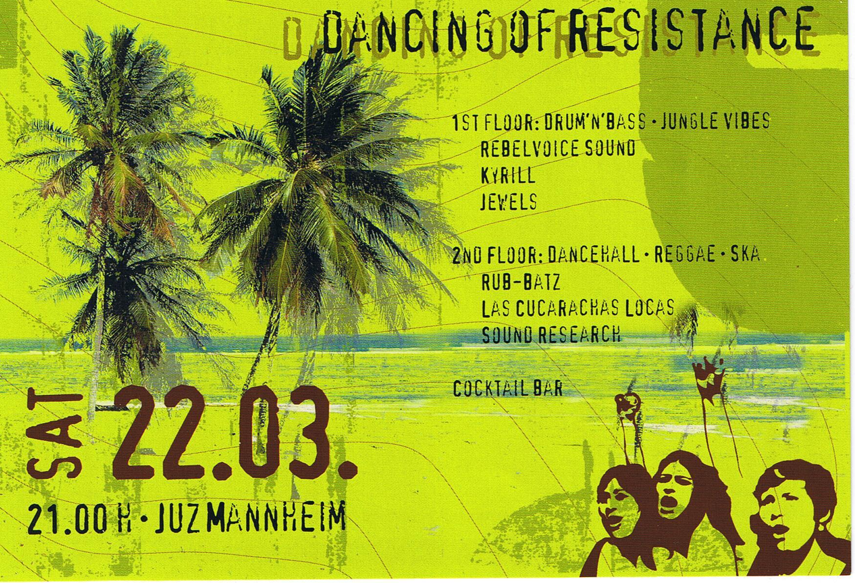 22.03.08 Dancing of resistance
