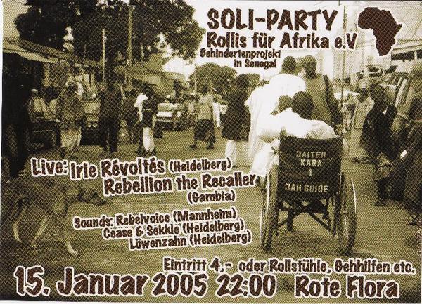 Rollis für Afrika 15.01.05