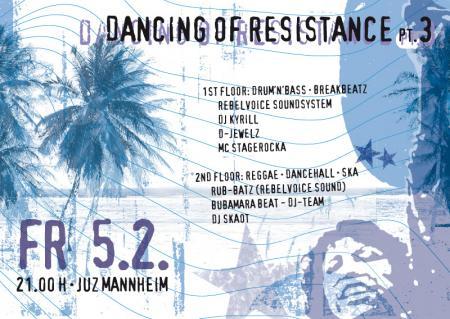 kyrill-riot_bpm @ Dancing Of Restistance Pt. III